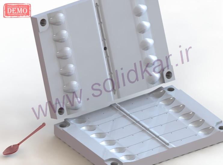 طراحی قالب تزریق پلاستیک