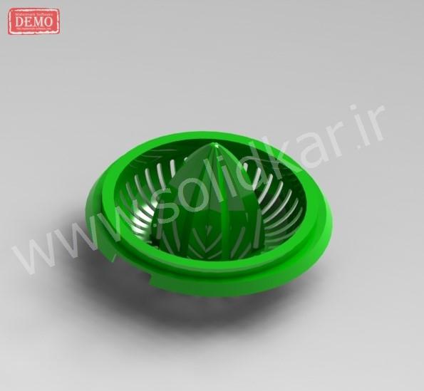 طراحی قالب پلاستیک solidworks